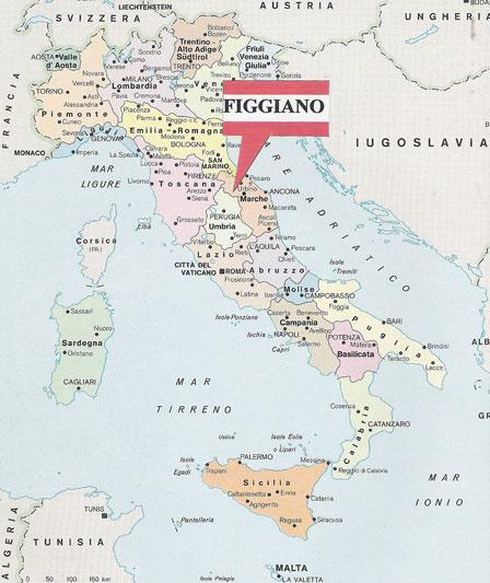 Marche Cartina Italia.Where We Are